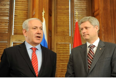 Netanyahu and Harper