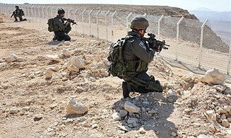 IDF Trains Soldiers Against Terrorist Break-Ins