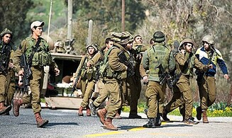 IDF Officer Wounded by Syrian Gunfire