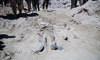 Iraq Exhumes 500 Bodies from ISIS Tikrit Massacre