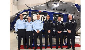 Israel Police receives helicopters from United States