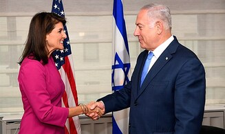 Nikki Haley receives the Simon Wiesenthal Center's highest honor