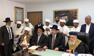 Chief Rabbis meet with Ethiopian community leaders