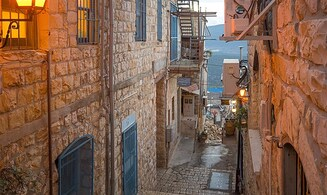 A virtual radio tour of the holy city of Tzfat