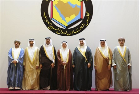 Gulf state oil ministers (file)