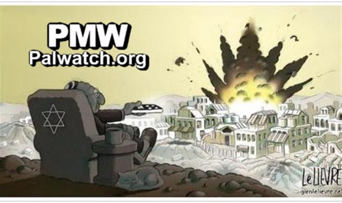 Anti-Semitic Fatah cartoon
