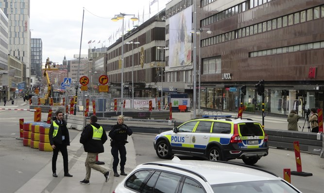 Ramming attack in Stockholm