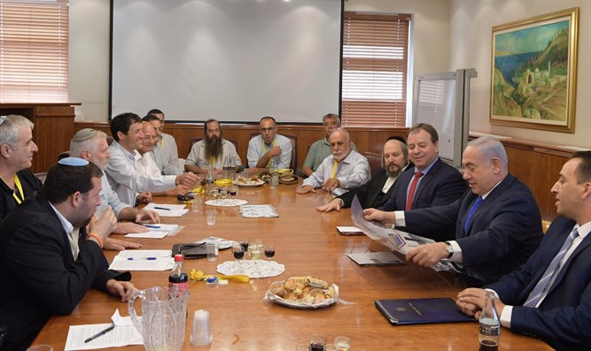 Yesha leaders meet PM Netanyahu