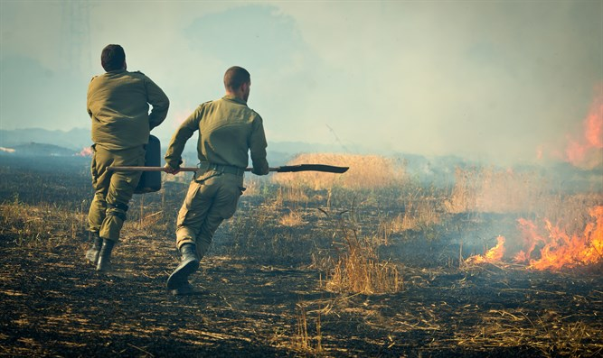 Rushing around putting out fires; Gaza area communities