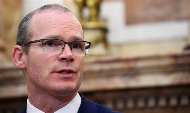 Irish Foreign Minister Simon Coveney