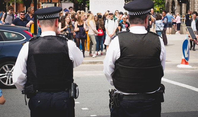 Police in London's Westminster area