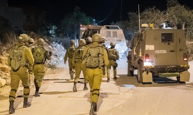 IDF forces on a mission