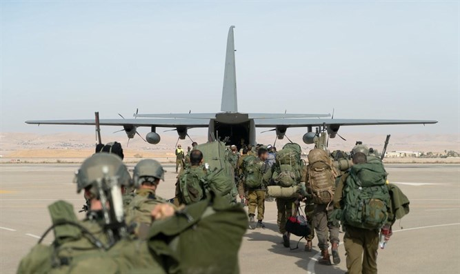 IAF and Commando Brigade joint operation in Cyprus