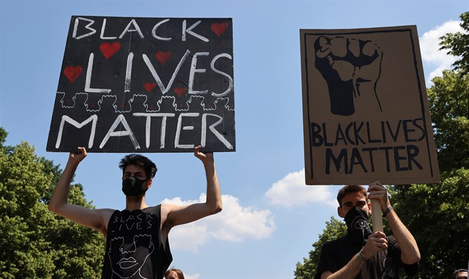 Black Lives Matter protesters