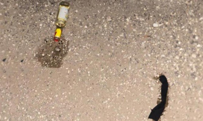 Firebomb found on the body of the terrorists