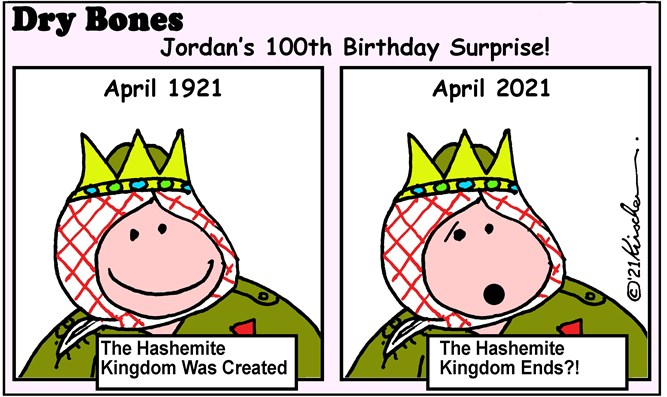 Jordan reaches 100 as its ruling Hashemite dynasty implodes