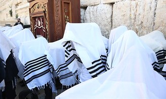 Watch: Priestly Blessing at the Western Wall