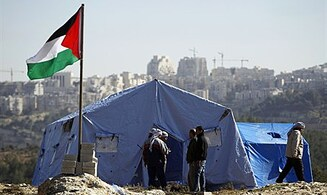 PA Arabs Re-enter Illegal Outpost