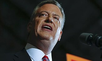 New York Mayor De Blasio to Visit Israel
