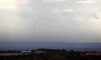 Hamas Rocket Lands in Egyptian Territory