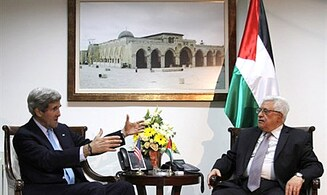 Kerry Urges Abbas to 'Make Tough Decisions'