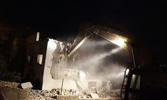 Watch: Homes of terrorists demolished