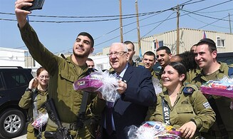 Rivlin to soldiers: Do not hesitate when facing danger