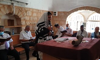 Shofar blasted in Kfar Shiloach 84 years after '36 riots