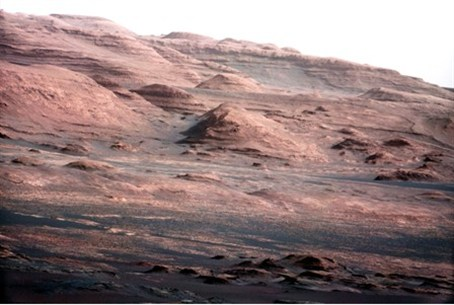 Mars' Mt Sharp - similar to the Negev?