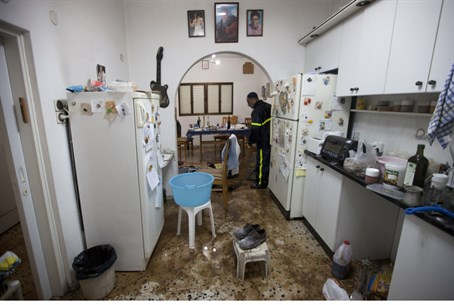 Extensive flood damage in Tel Aviv