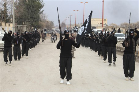 Islamic State terrorists (file)