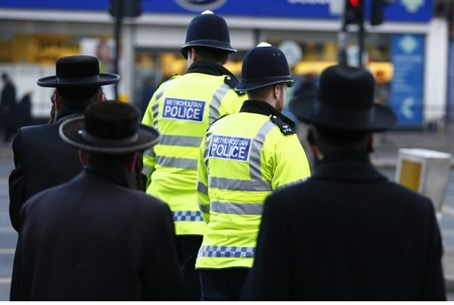 British police, Jews (file)