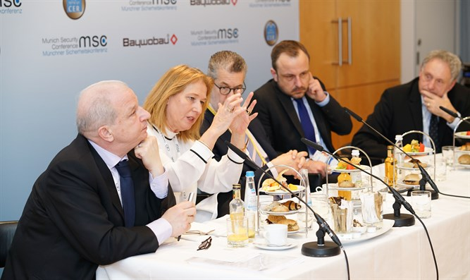 Conference of European Rabbis hosts antisemitism discussion at the Munich Security Confere
