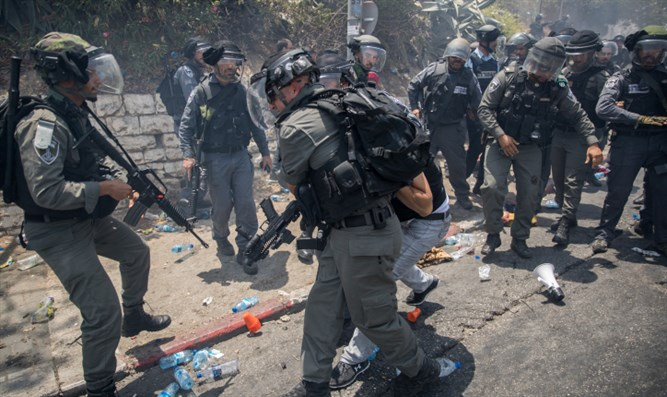 Clashes in eastern Jerusalem
