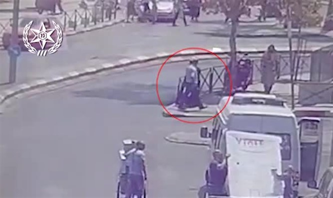 Female terrorist carries out stabbing attack