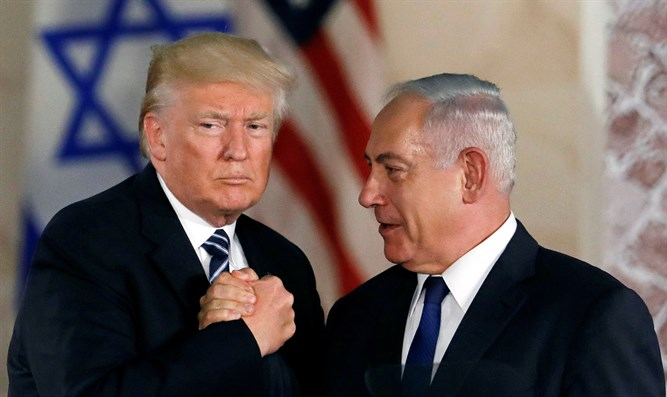 Trump with Netanyahu