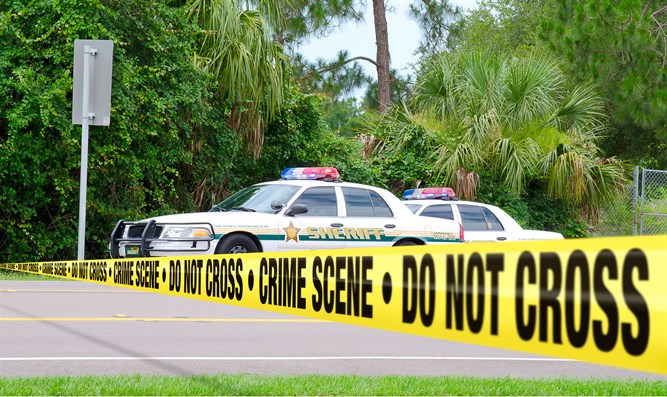 Florida crime scene (stock image)