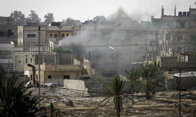 Explosion in Gaza Strip (archive)