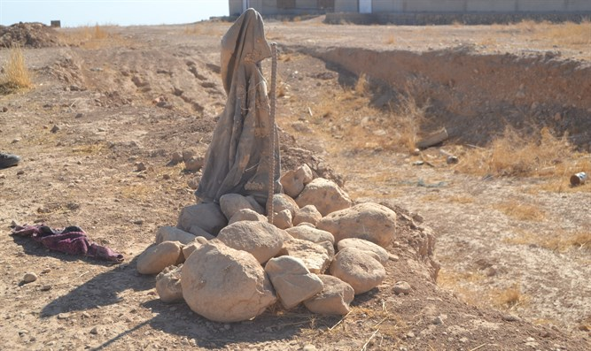 Yazidi mass grave in northern Iraq