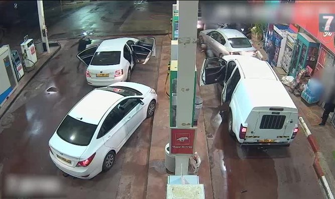 attempted robbery of gas station
