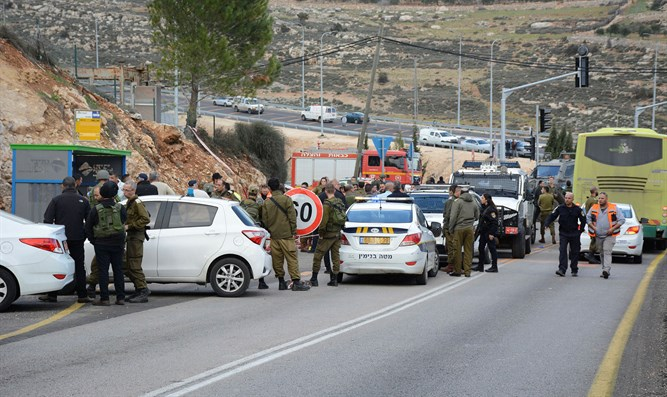 Terror attack in Givat Assaf
