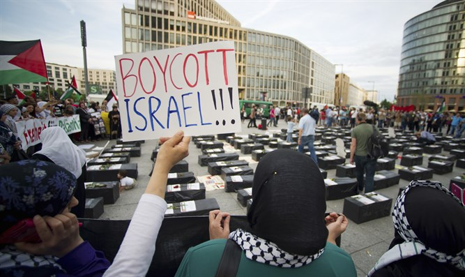 Anti-Israel demonstrators (archive)