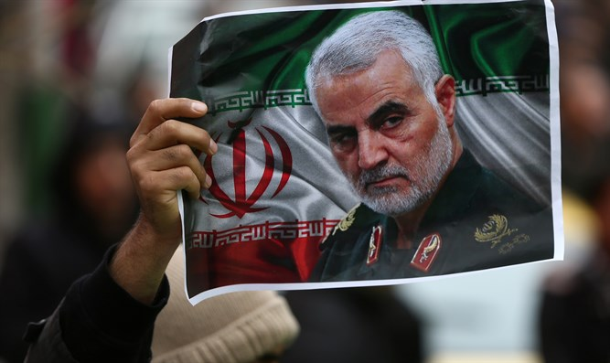 Rally in memorial of Qassem Soleimani in Tehran