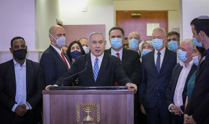 PM Netanyahu at court